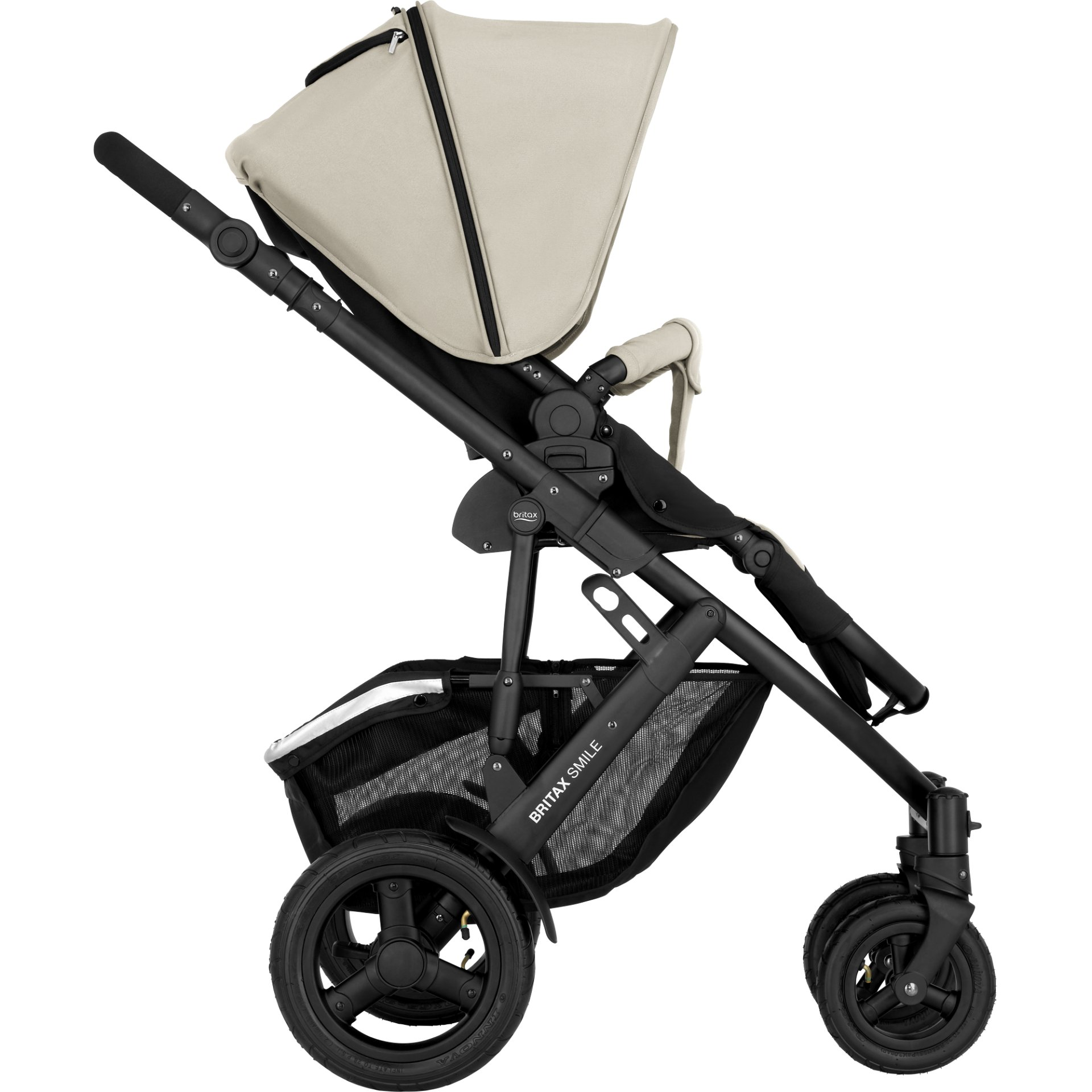 britax r mer kinderwagen smile 2 2018 sand beige online kaufen bei kidsroom kinderwagen. Black Bedroom Furniture Sets. Home Design Ideas
