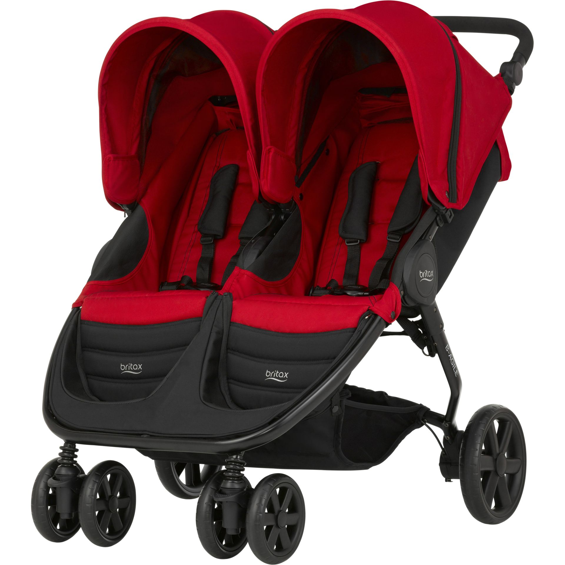 britax r mer b agile double 2017 flame red online kaufen. Black Bedroom Furniture Sets. Home Design Ideas
