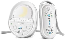 AVENT baby monitor SCD506/26 - A crystal clear sound, a soothing night light and lullabies characterized the Babyphone Avent SCD506/00. The DECT baby monitor gives you a feeling of saf...