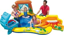 Water play center Dinosaur - Water play center Dinosaur – This play center offers a lot of fun for little water rats.