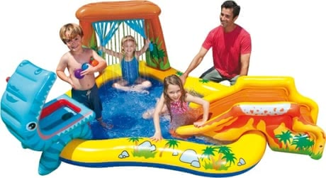 Intex Wasserspielcenter Dinosaurier