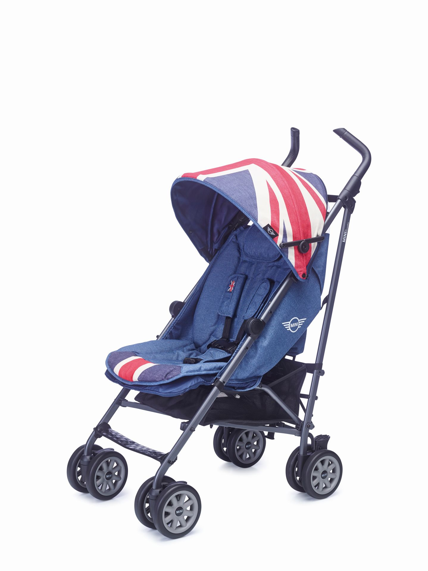 mini by easywalker buggy 2017 union jack vintage online. Black Bedroom Furniture Sets. Home Design Ideas