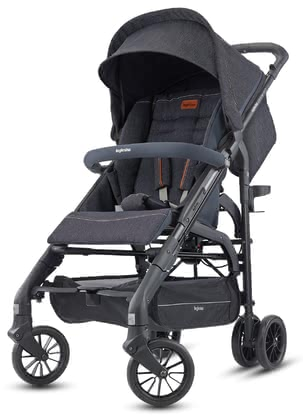 Inglesina poussette pliante Zippy Light Village Denim 2020 - Image de grande taille