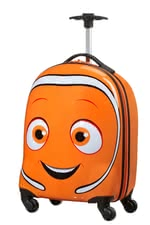 Samsonite hard shell trolley Dory - Samsonite hard shell trolley Dory – This trolley lets your child escape to the extraordinary underwater world of Dory and Nemo.