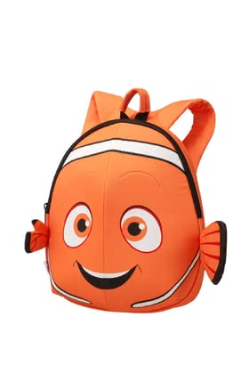 Samsonite rucksack Nemo 29 cm - Samsonite rucksack Nemo 29 cm – The rucksack in 3D appearance will fascinate little oceanographers with their Disney hero Nemo.