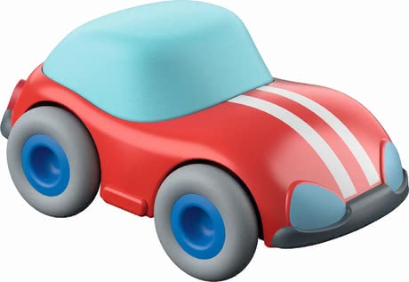 Haba Kullerbü - red speedster - Haba Kullerbü - Red Speedster - The race car provides extra speed in the game.