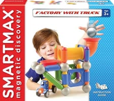 SMARTMAX Factory with Truck - SMARTMAX Factory with Truck – Attention little trucker fans – the SMARTMAX Factory with Truck provides a lot of entertainment.