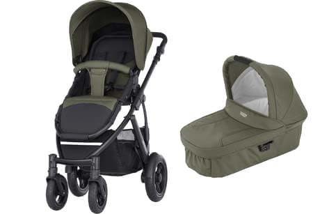 SMILE 2 Britax Römer incl. capazo Hard Carrycot Olive Green 2017 - Imagen grande