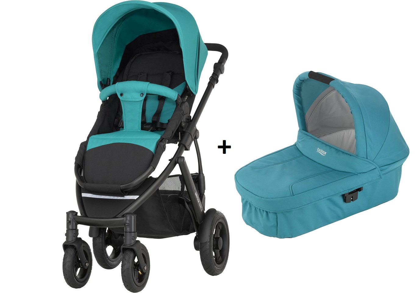 britax r mer smile 2 inkl hard carrycot kinderwagen aufsatz 2018 lagoon green online kaufen bei. Black Bedroom Furniture Sets. Home Design Ideas