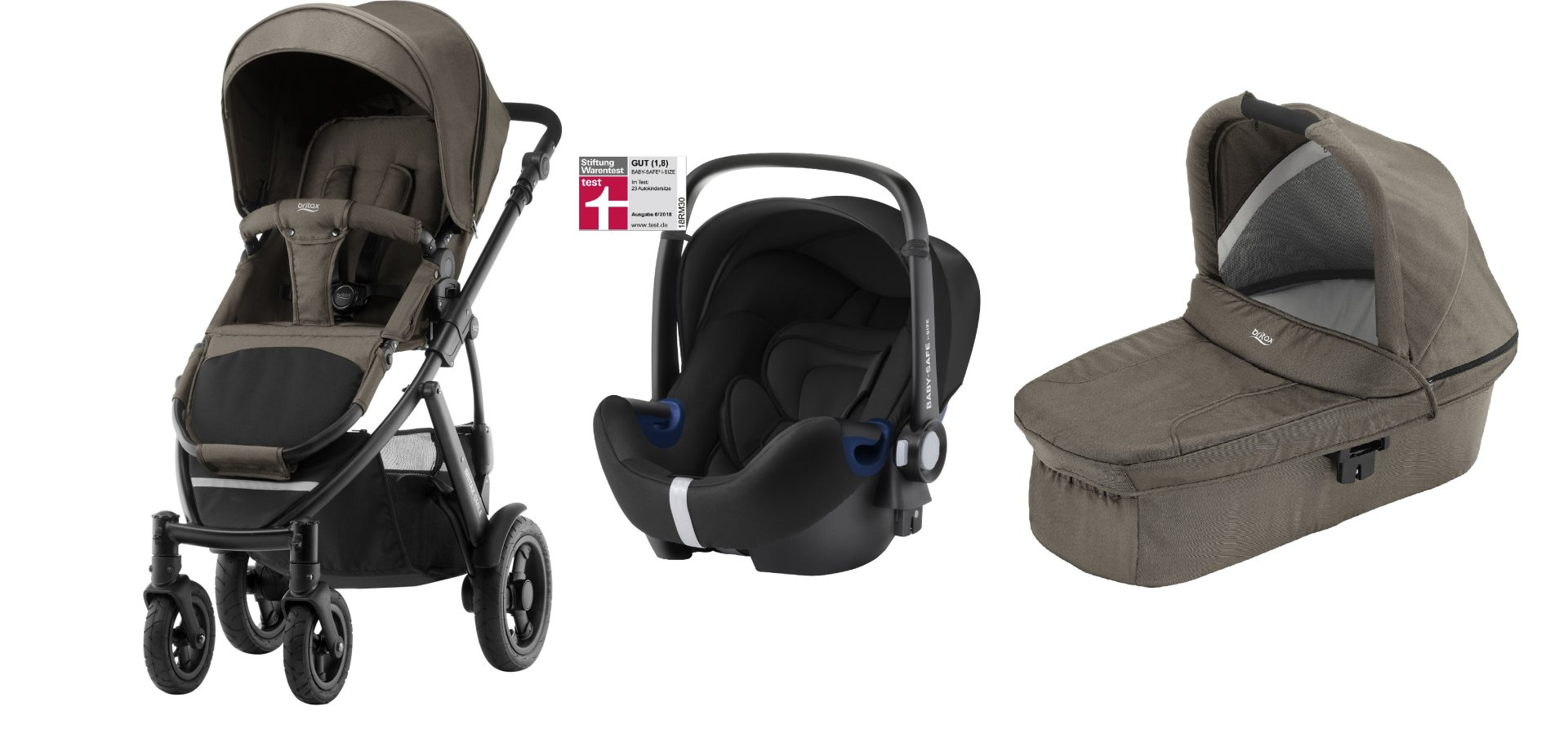 britax r mer smile 2 inkl hard carrycot babyschale baby. Black Bedroom Furniture Sets. Home Design Ideas