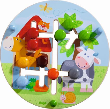 "Haba motor skills board ""farmer's world"" 2017 - large image"