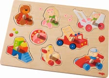 "Haba grasping puzzle ""My first toys"" - Haba grasping puzzle ""My first toys"" – The grasping puzzle is exactly the right thing for small puzzle fans."