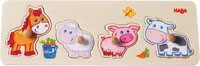 "Haba grasping puzzle ""farmer's animal children"" - Haba grasping puzzle ""farmer's animal children"" – This article is the perfect introduction into the world of puzzling."