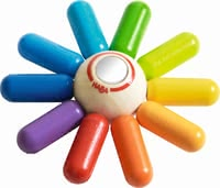 "Haba grasping toy ""Colourful sun"" - Haba grasping toy ""Colourful sun"" – This toy makes your child radiate almost like the sun."