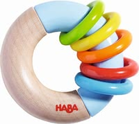 "Haba grasping toy ""ring around"" - Haba grasping toy ""ring around"" – This toy will provide a lot of fun."