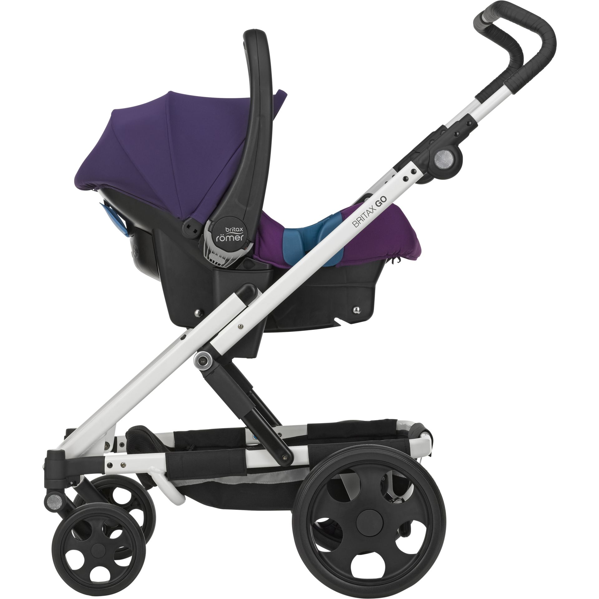 britax r mer go inkl go kinderwagen aufsatz babyschale. Black Bedroom Furniture Sets. Home Design Ideas