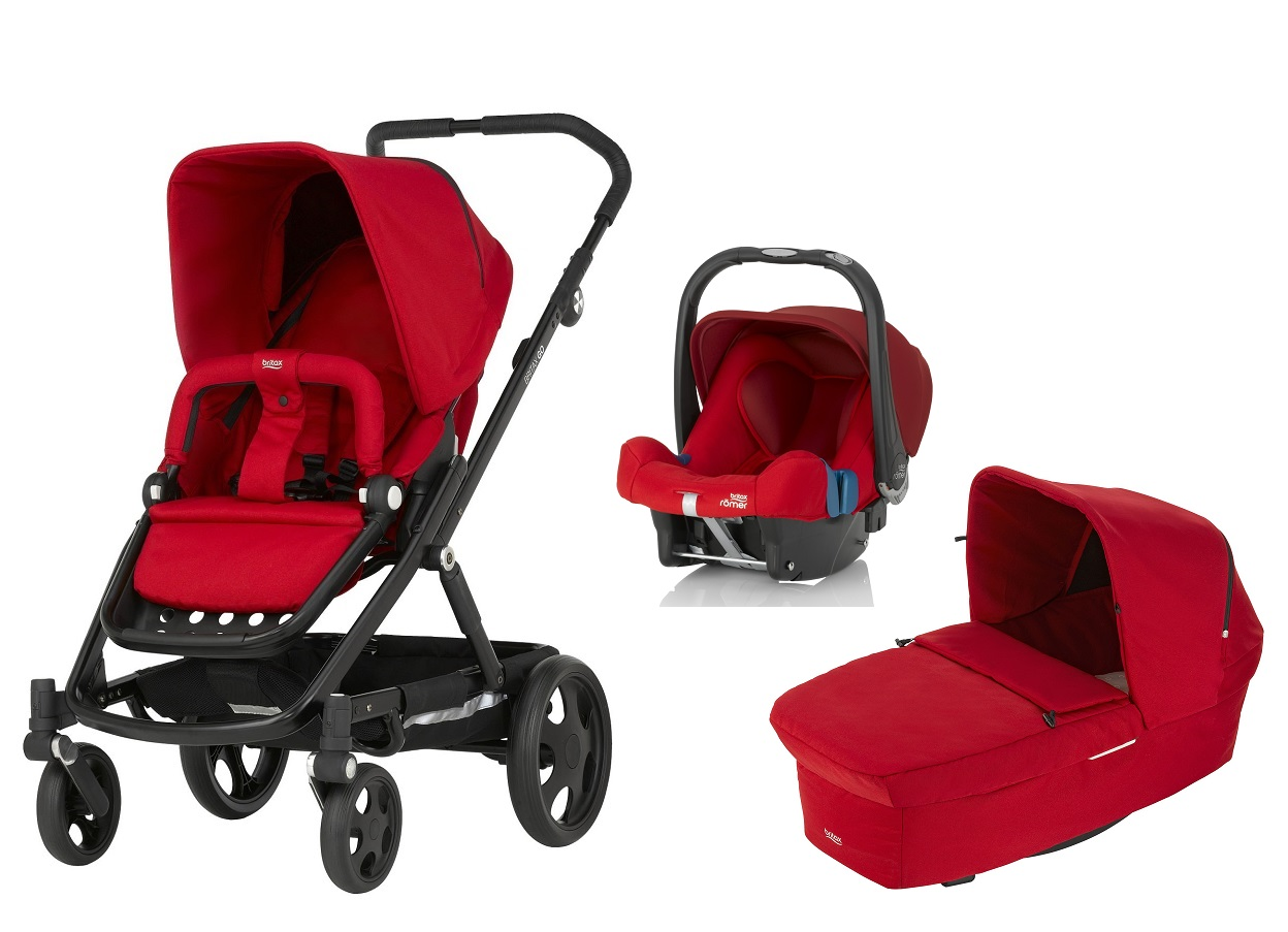 britax r mer go inkl go kinderwagen aufsatz babyschale safe plus shr ii 2017 flame red online. Black Bedroom Furniture Sets. Home Design Ideas