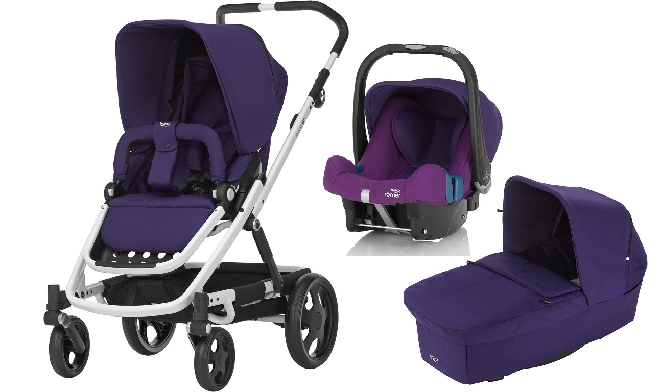 britax r mer go inkl go kinderwagen aufsatz babyschale safe plus shr ii 2017 mineral purple. Black Bedroom Furniture Sets. Home Design Ideas