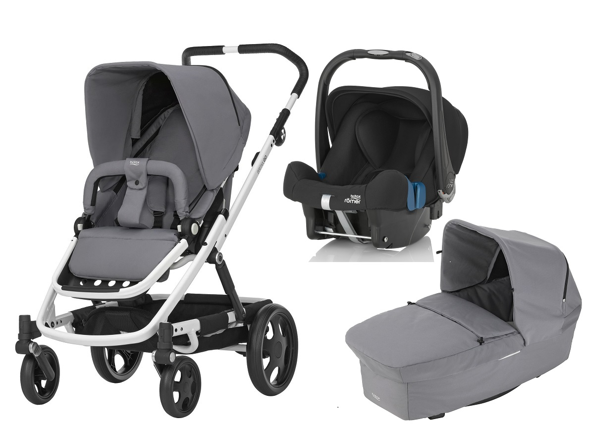 britax r mer go inkl go kinderwagen aufsatz babyschale safe plus shr ii 2017 steel grey. Black Bedroom Furniture Sets. Home Design Ideas