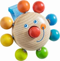"Haba buggy playing figure ""Clown"" - Haba buggy playing figure ""Clown"" – A great companion for being on the go."