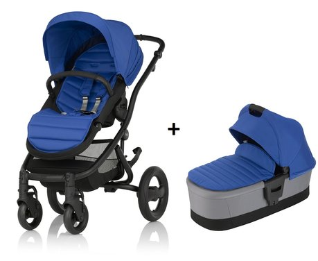AFFINITY 2 Britax Römer incl. Colour Pack + capazo Ocean Blue 2018 - Imagen grande