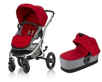 Britax Römer AFFINITY 2 incl. Colour Pack + carrycot attachment - Britax Römer AFFINITY 2 incl. Colour Pack + carrycot attachment – This set including the stroller, a colour pack and carrycot uses colour accents from the first day on.