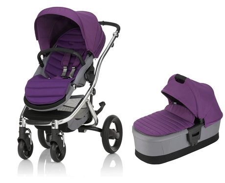 AFFINITY 2 Britax Römer incl. Colour Pack + capazo Mineral Lilac 2017 - Imagen grande