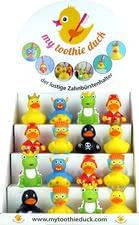 Toothie Duck tooth brush holder - Toothie Duck tooth brush holder – The funny tooth brush holder will conquer every bathroom from now on.