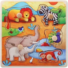 Beeboo puzzle - Beeboo puzzle – A colourful puzzle by Beeboo for children aged ten months.
