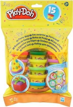 Play-Doh with stickers - Play-Doh with stickers – Guarantees fun at every party.