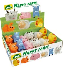 "Animalitos salpicas ""Happy Farm"" - Con los animalitos salpicas cómicos ""Happy Farm"" chapotear es muy divertido."