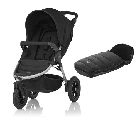 Britax B-Motion 3 вкл. конверт  Shiny Cosytoes Cosmos Black 2017 - большое изображение