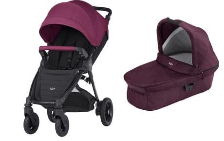 Britax B-Motion 4 Plus incl. Canopy Pack +nacelle Wine Red 2018 - Image de grande taille