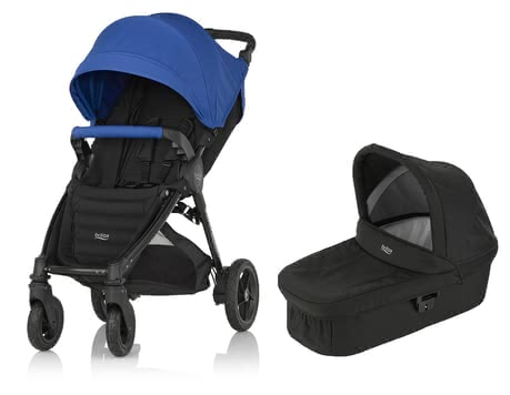 Britax B-Motion 4 Plus inkl. Canopy Pack + Hard Carrycot Ocean Blue 2019 - Großbild