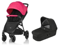 Britax B-Motion 4 Plus incl. Canopy Pack + Hard Carrycot attachment - Britax B-Motion 4 Plus incl. Canopy Pack + Hard Carrycot attachment – This set will accompany you from the first day after your little one is born.