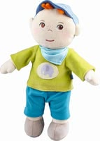 "Haba Snup up Doll ""Jonas"" - Haba Snup up Doll ""Jonas"" – The soft doll is a great companion for your little one."