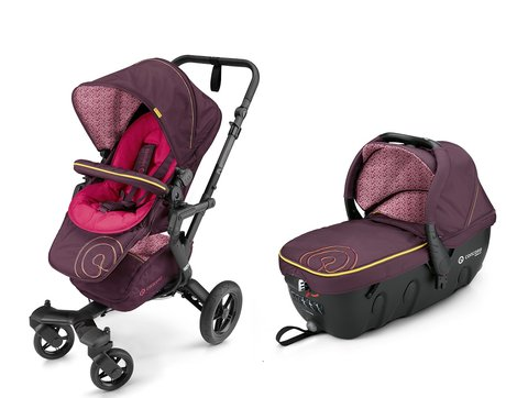 Concord Buggy NEO incl. carrycot Sleeper 2.0 Rose Pink 2016 - large image