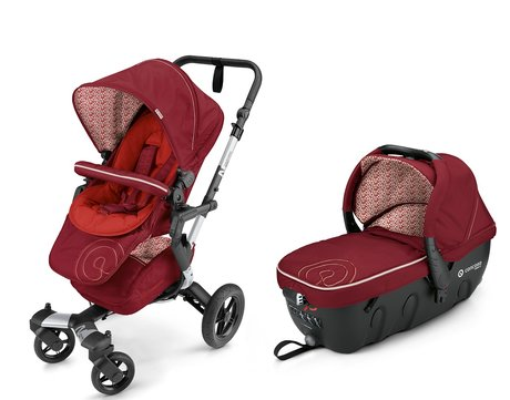 Concord Buggy NEO inkl. Babywanne Sleeper 2.0 Tomato Red 2016 - Großbild