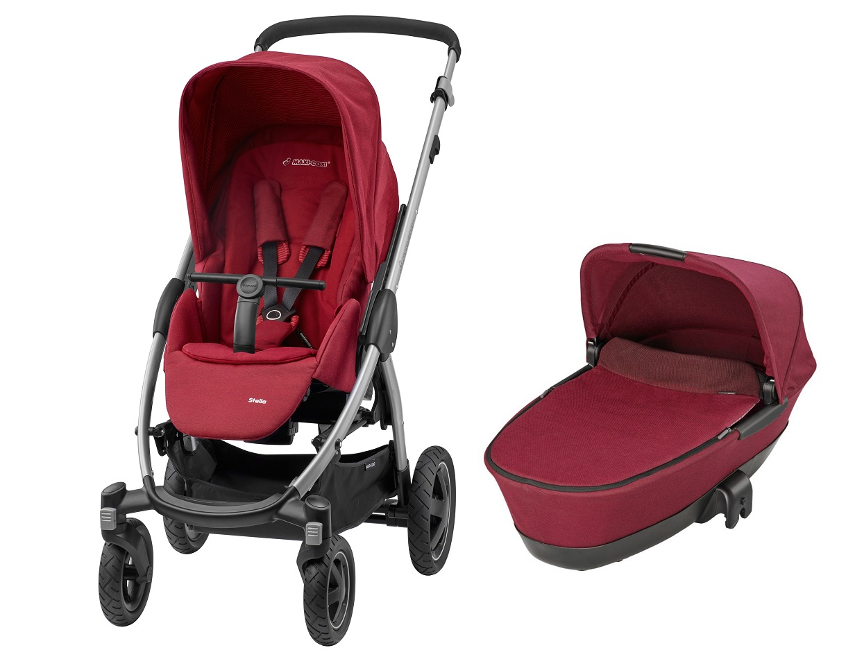 maxi cosi stella inkl dreami kinderwagen aufsatz 2017 robin red online kaufen bei kidsroom. Black Bedroom Furniture Sets. Home Design Ideas