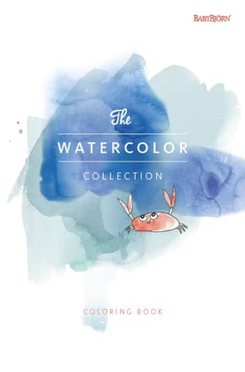 "Baby Björn Malbuch ""The Watercolor Collection"" 2017 - Großbild"