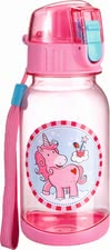 "Haba water bottle ""Unicorn glitter luck"" - Haba water bottle ""Unicorn glitter luck"" – This water bottle is a great companion for all little girls."