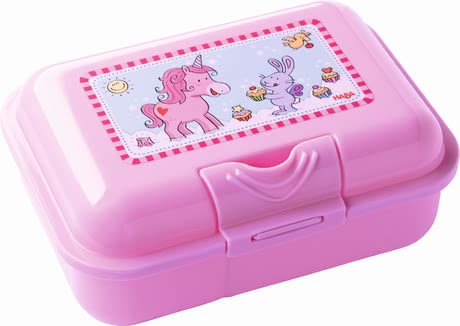 "Haba lunch box ""Unicorn glitter luck"" 2017 - large image"