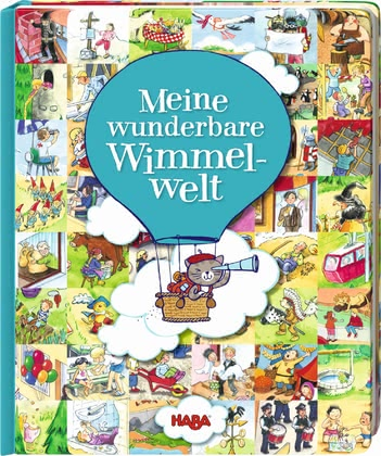 "Haba cardboard storybook ""My wonderful world"" - Haba cardboard storybook ""My wonderful world"" – This storybook offers infinite possibilities for looking and discovering."