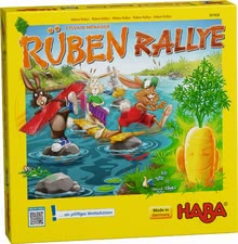 "Haba ""Rabbit Rally"" - Haba ""Rabbit Rally"" – A smart game with easy rules."