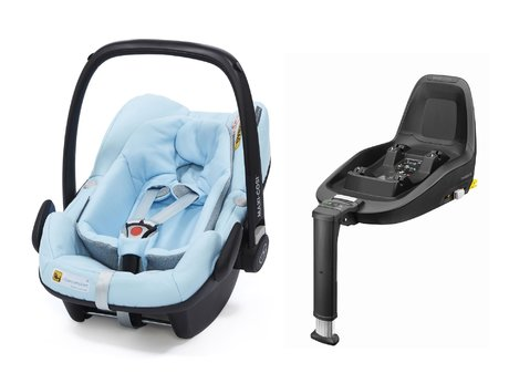 Portabebés Pebble Plus incl. 2Way Fix Maxi Cosi - * El portabebés Pebble Plus incl. 2Way Fix de Maxi Cosi cumple con las últimas normas de seguridad y corresponde con la norma i-Size.