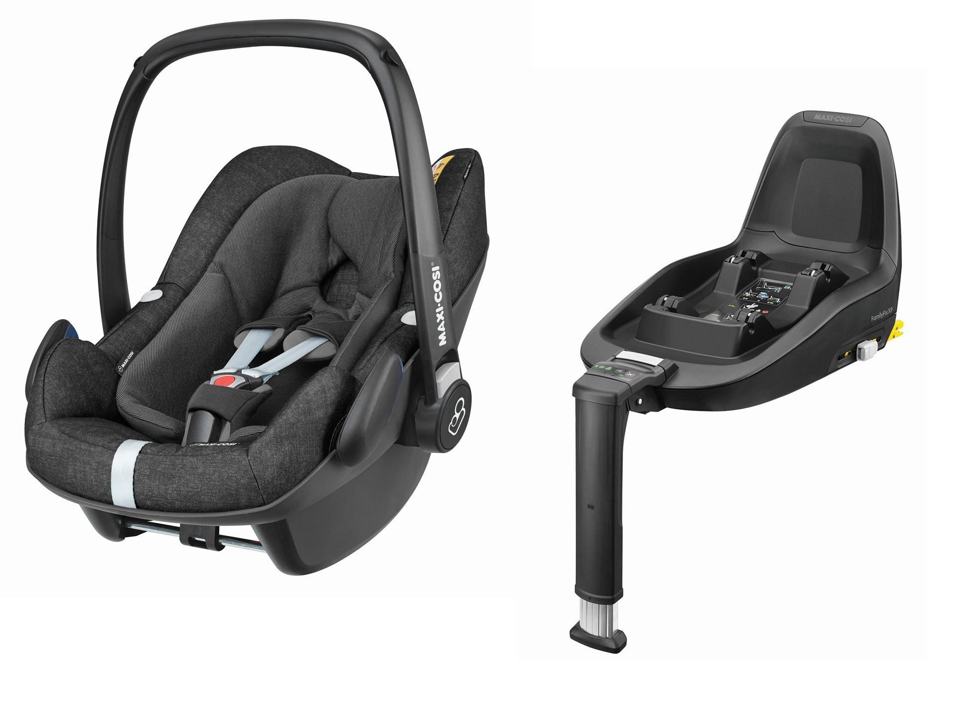 maxi cosi babyschale pebble plus inkl 2way fix 2019 nomad black online kaufen bei kidsroom. Black Bedroom Furniture Sets. Home Design Ideas