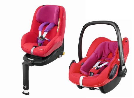 Maxi Cosi 2Way Family Concept  Red Orchid 2017 - Großbild