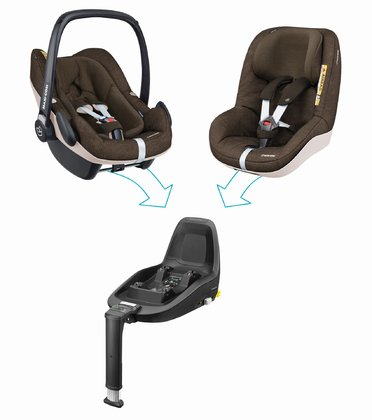Maxi Cosi 2Way Family Konzept  Nomad Brown 2018 - Großbild