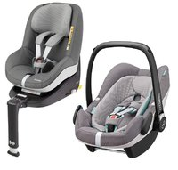 Maxi-Cosi 2Way Family Concept - Maxi-Cosi 2Way Family Concept – Traveling can be so easy and safe – this set will convince you from the day of birth on until approximately 4 years of age.