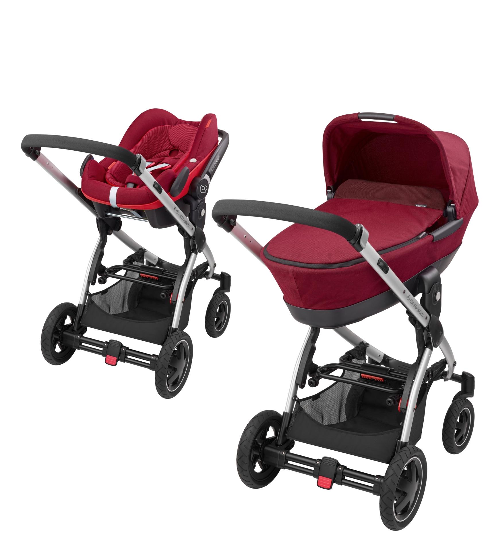 maxi cosi stella inkl kinderwagen aufsatz babyschale pebble online kaufen bei kidsroom. Black Bedroom Furniture Sets. Home Design Ideas